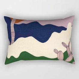 Intangible Land Rectangular Pillow