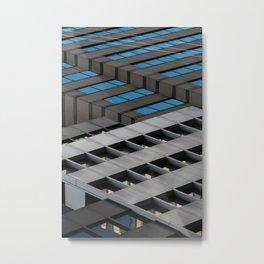 Urban Lines Metal Print