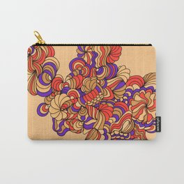 Goldenrod and Violet Carry-All Pouch
