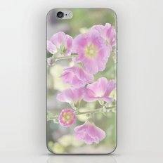 Hollyhocks iPhone & iPod Skin