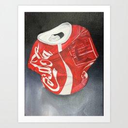 Coca-Cola Can Art Print