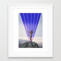 indian Framed Art Prints featuring indian by •ntpl•