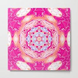 Star Flower of Symmetry 406 Metal Print
