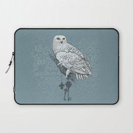 Secrets of the Snowy Owl Laptop Sleeve
