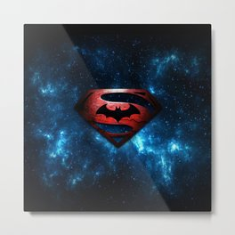 SUPERMAN - SUPERMAN Metal Print