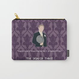 The Sign of Three - John Watson Carry-All Pouch