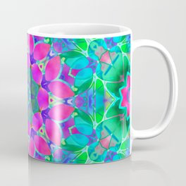 Floral Fractal Art G409 Coffee Mug