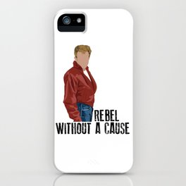 Rebel Without a Cause iPhone Case