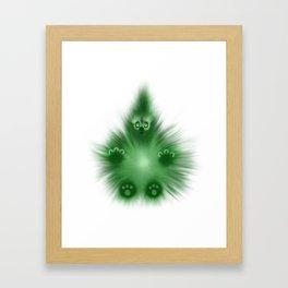 Wombly Framed Art Print