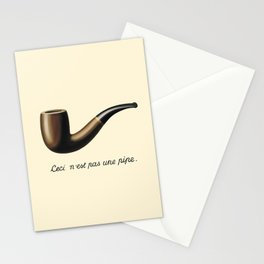 In the style of Magritte Stationery Cards