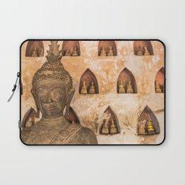 Wat Si Saket Buddhas VI, Vientiane, Laos Laptop Sleeve
