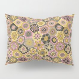 Millefiori-Earthy Colors Pillow Sham