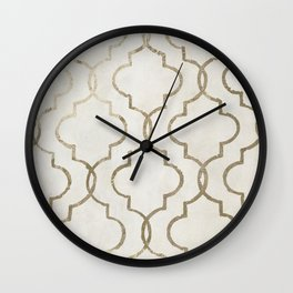 Paris Apartment White Wall Clock