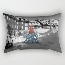 Unseen Monsters of Mount Shasta - Quidi Kallagoo Rectangular Pillow