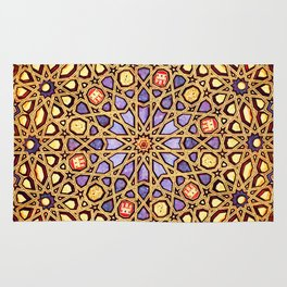 Golden Dome Rug