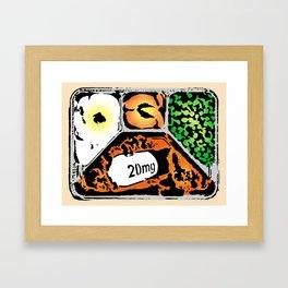 FREE LUNCH GICLÉE  PRINT Framed Art Print