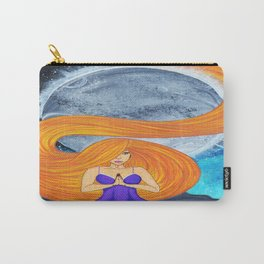 Path of Peace, Hair Series Carry-All Pouch