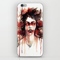 vampire iPhone & iPod Skins featuring VAMPIRE by AkiMao