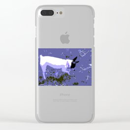 Sweet Party Animal Clear iPhone Case
