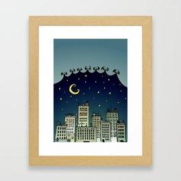 The Nightbringers Framed Art Print