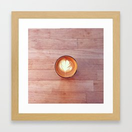 A Cortado to Start Framed Art Print