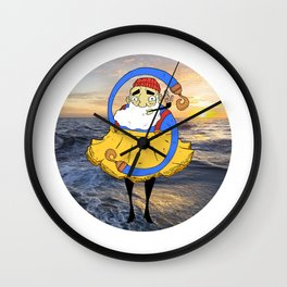 Freedom Sea Wall Clock