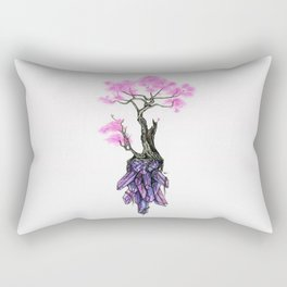 Cherry Crystals Rectangular Pillow