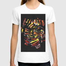 The Devil Painting Acrylic on Paper T-shirt