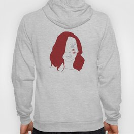 Cry baby vector portrait Hoody