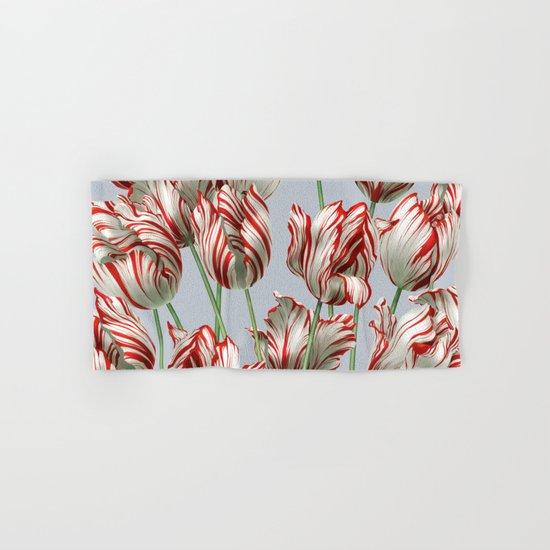 Semper Augustus Tulips Hand & Bath Towel