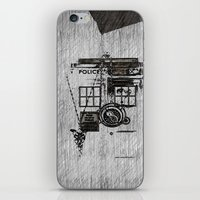 fandom iPhone & iPod Skins featuring Fandom by Nathan Ian Green