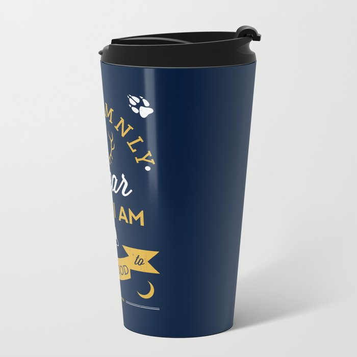 Marauder's Map Metal Travel Mug