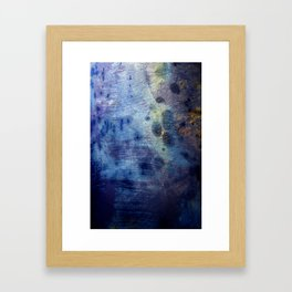 Blurple Framed Art Print