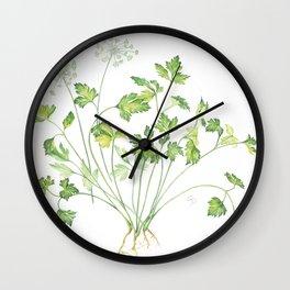 parsley Wall Clock