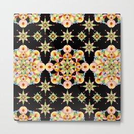 Sparkly Carousel Confetti Metal Print