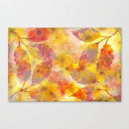 Changing Seasons Abstract Canvas Print