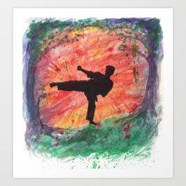 Sidekick Sunrise Art Print