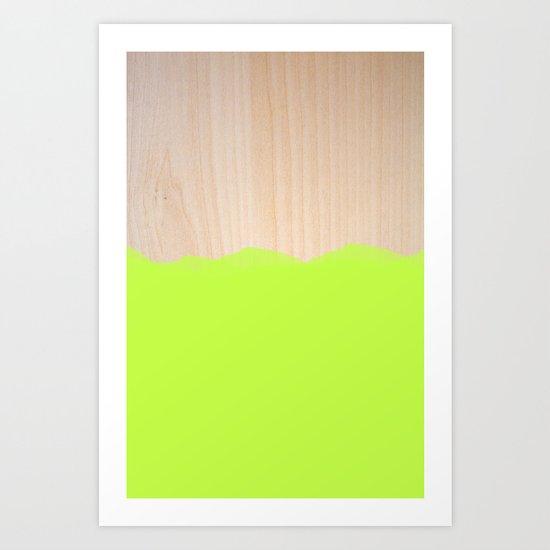 Sorbet II Art Print
