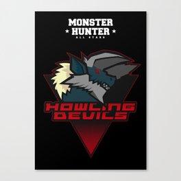 Monster Hunter All Stars - Howling Devils Canvas Print