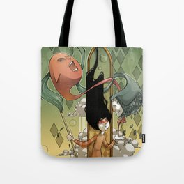 playing with ghosts Tote Bag