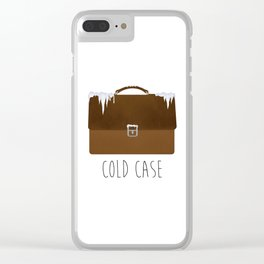 Cold Case Clear iPhone Case
