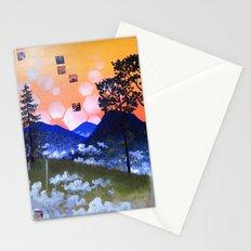 Blue Ridge Sunset Stationery Cards