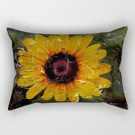 Peacefully Simple Rectangular Pillow