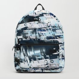 Flight Abstract Square Backpack