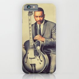 Wes Montgomery, Music Legend iPhone Case