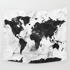Worldmap wall tapestries society6 world map marble 3 gumiabroncs Image collections