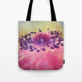 Flat Flower Cartoon Tote Bag