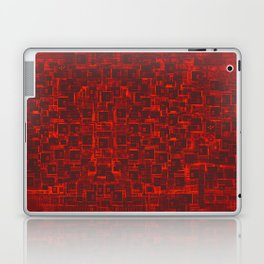Adventure Black on Red Laptop & iPad Skin