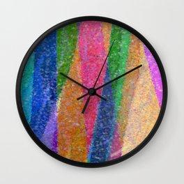 Festive Mountains Wall Clock