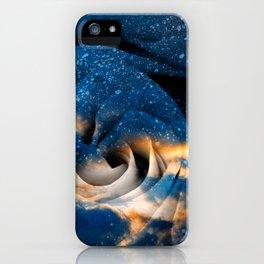 Phoenix Fury Rose iPhone Case